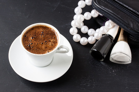 masculine: Turkish coffee with masculine style