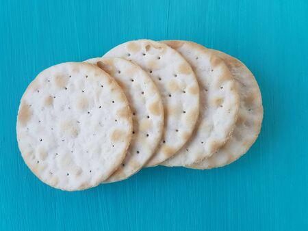 galletas integrales: galletas de agua