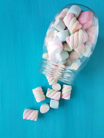 caramelos de malvavisco Foto de archivo