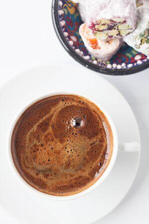Turkish delight and Turkish coffee