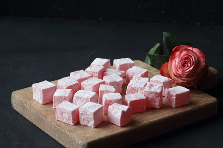 Turkish dessert Stock Photo
