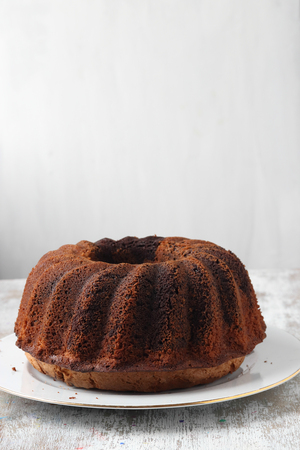 homemade bundt cake 스톡 콘텐츠