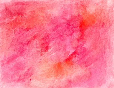 Watercolor red background Reklamní fotografie