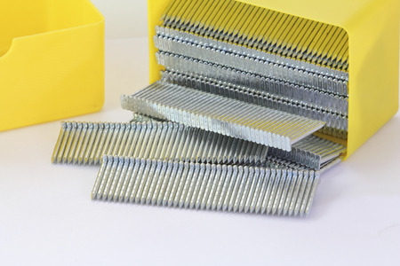 framer: stack of nails used in a nailgun