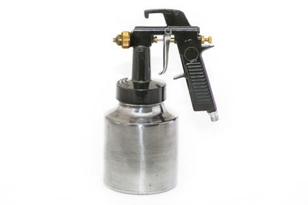 airbrushing: Pistola negro y met�lico.