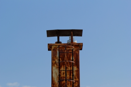 chimney on the roof photo