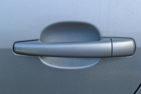 gray car door handle Stock Photo - 20105668