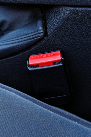 he lock for a seat belt of the modern car Stock Photo - 20105684