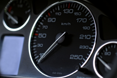 Close up modern car dashboard Stock Photo - 20208341