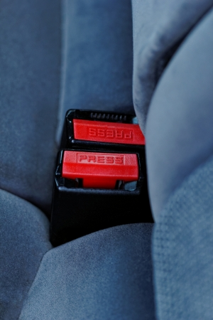 he lock for a seat belt of the modern car Stock Photo - 20208767