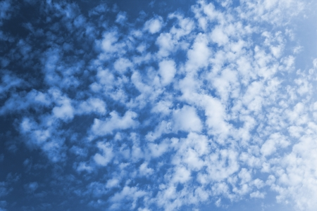 clouds in sunlight