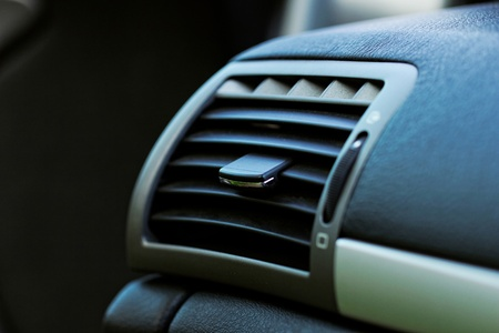 Air conditioner outlet in compact car Stock Photo - 20422157