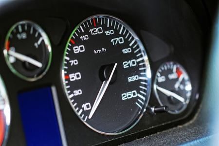 Close up modern car dashboard Stock Photo - 20421906