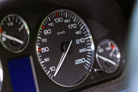 Close up modern car dashboard Stock Photo - 20562954