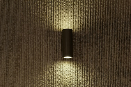 designer lamp on the wall with soft light Stock Photo - 20554385