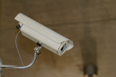 industrial white security camera in the box ( CCTV) Stock Photo - 20840853