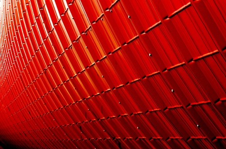 red industrial plate texture (close up of patternt) backgorund Stock Photo - 20841007