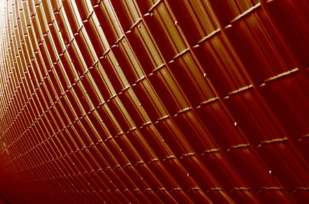 ribbed slab: red industrial plate texture (close up of patternt) backgorund