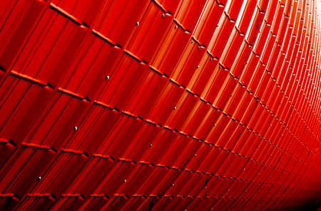 red industrial plate texture (close up of patternt) backgorund Stock Photo - 21387694