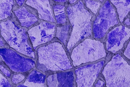 Background of a large stone wall texture (purple) Stock Photo - 21684682