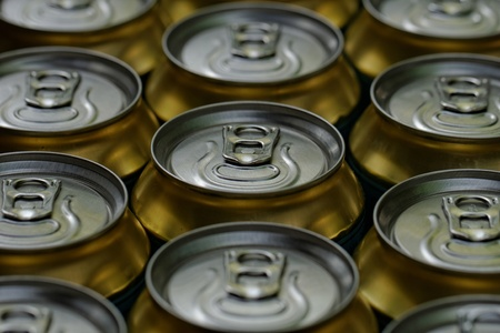 Drinking cans close up Stock Photo - 21810782