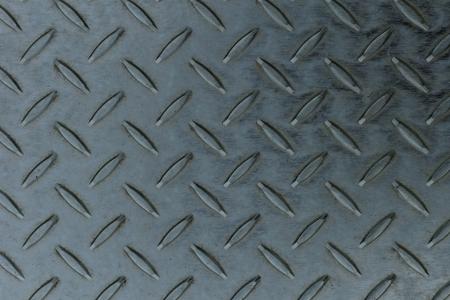 Seamless steel diamond plate texture Stock Photo