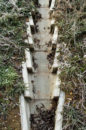 concrete drainage ditch Stock Photo - 22608114