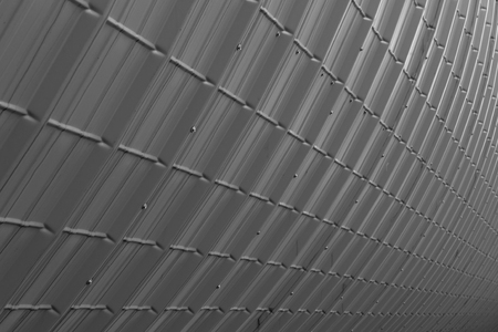 ribbed slab: grey industrial plate texture (close up of patternt) backgorund