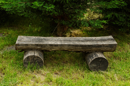 Photo of an old but nice bench Stock Photo