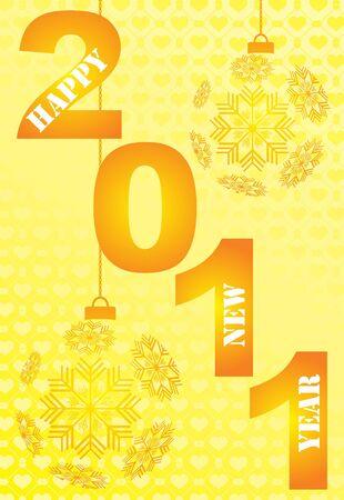 fin de a�o: Tarjeta de A�o Nuevo Eva saludo Vectores