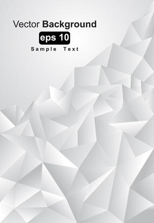 poligonos: Resumen de fondo gris, tonos, ilustraci�n vectorial
