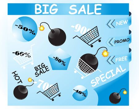 bomb price: Discount signs
