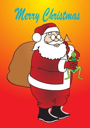 degraded: Santa Claus