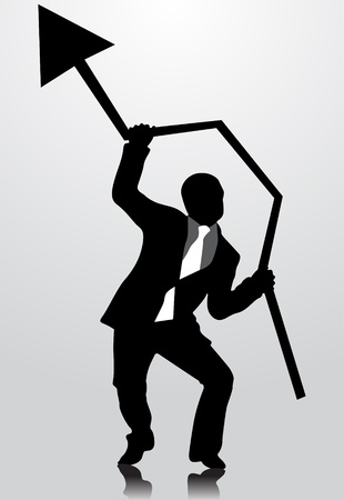 enterprising: Business man
