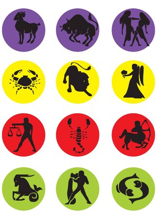 Vector Horoscopes  Illustration