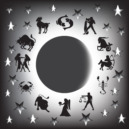 zodiac sign vector