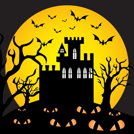 Halloween night  Illustration