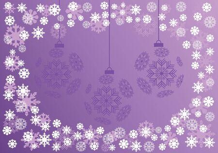 Background Christmas ball