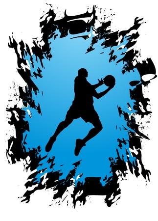 Basketball player Stock Vector - 11356846