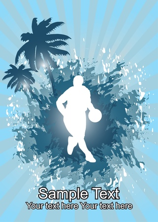 basketball player Stock Vector - 11356925