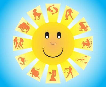 Zodiac symbols Vector