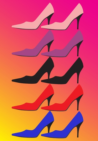 foot gear: Women shoes