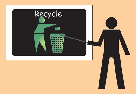 Recycle concept, vector Stock Vector - 10891934