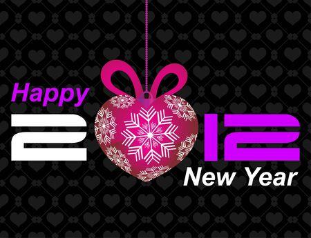 2012 Happy New Year Stock Vector - 11618330
