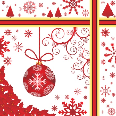 goldy: Christmas background vector illustration