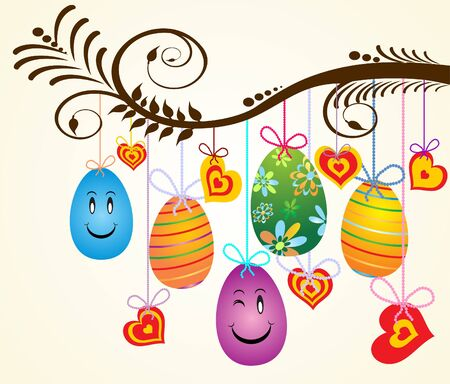 Easter background Illustration