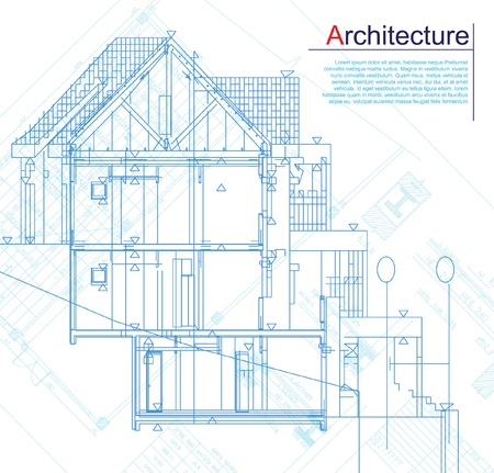 architectural model: Architectural background  Part of architectural project, architectural plan, technical project, drawing technical letters, architect at work, architecture planning on paper, construction plan