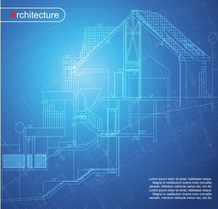 architecture plans: Urban Blueprint  vector   Architectural background  Part of architectural project, architectural plan, technical project, drawing technical letters, design on paper, construction plan
