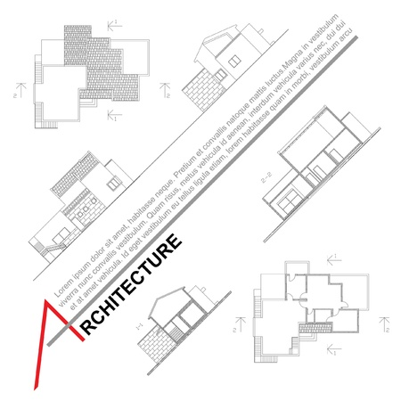 project plan: Architectural background  Part of architectural project, architectural plan, technical project, drawing technical letters, architect at work, architecture planning on paper, construction plan