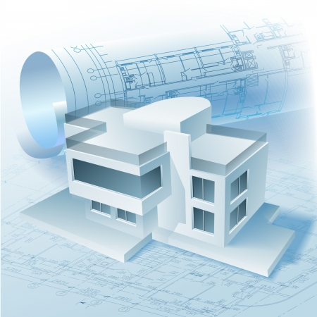 architectural drawing: Architectural background  Part of architectural project, architectural plan, technical project, drawing technical letters, architect at work, architecture planning on paper, construction plan